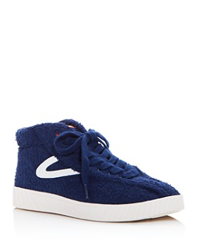 Tretorn - Women's NY Lite Terry Cloth High Top Sneakers