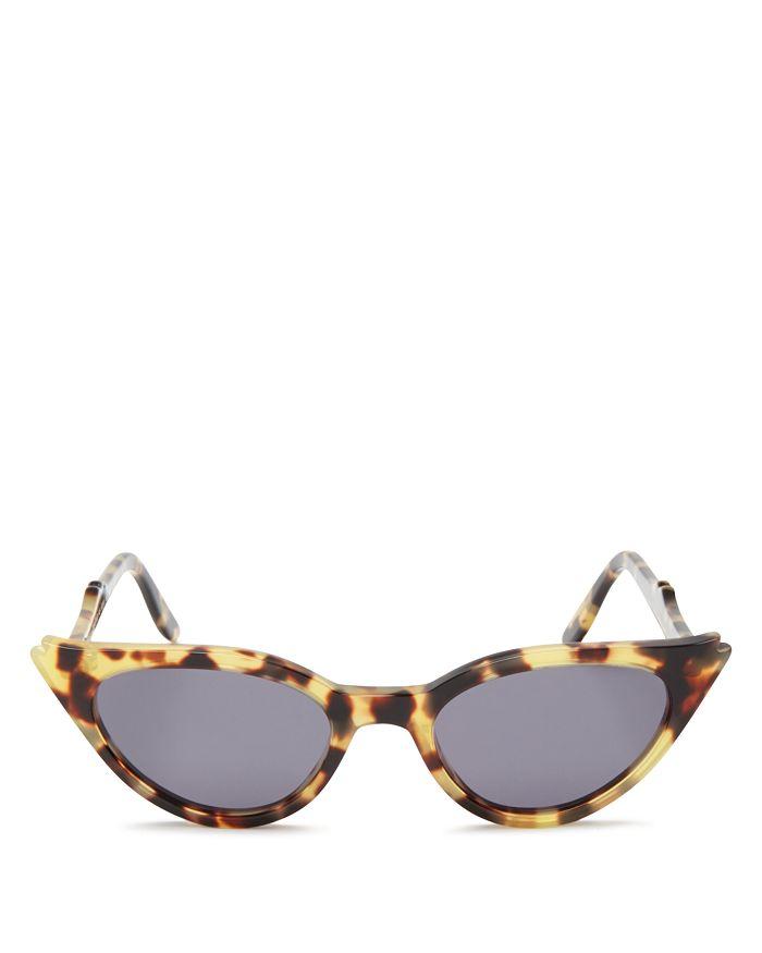 Illesteva - Women's Isabella Cat Eye Sunglasses, 52mm