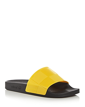 Raf Simons for Adidas Men's Adilette Checkerboard Slide Sandals