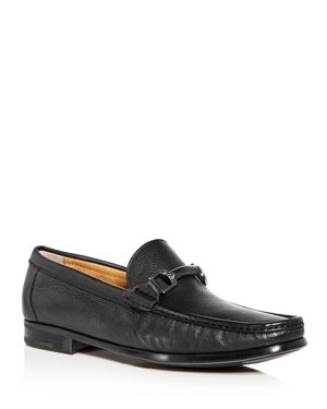 Bruno Magli Men's Salento Leather Moc Toe Loafers