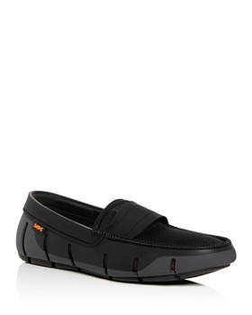 Swims - Men's Stride Single Band Keeper Moc Toe Loafers