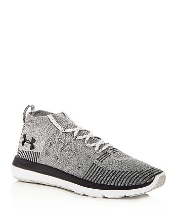finest selection 84008 6ff56 Under Armour Men's Slingflex Rise Knit Mid Top Sneakers ...