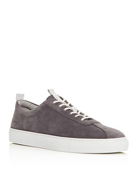 Grenson - Men's Suede Lace Up Sneakers