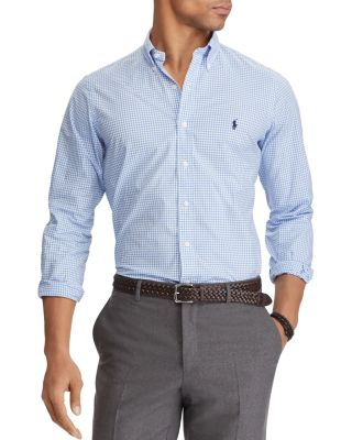 button down polo shirts for men