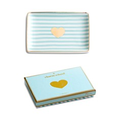Rosanna - Striped Heart Tray