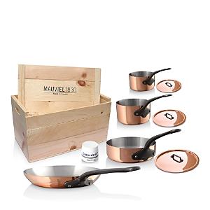 Mauviel M'250c Copper 7-Piece Cookware Set
