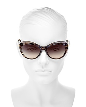 Longchamp - Women's Roseau Family Cat Eye Sunglasses, 55mm