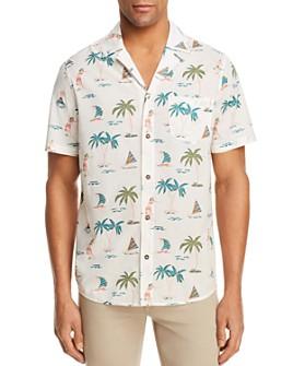 Banks Journal - Hula Short Sleeve Button-Down Shirt - 100% Exclusive