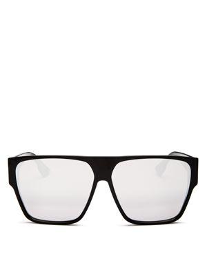 Dior Women's Hit Mirrored Square Sunglasses, 64mm