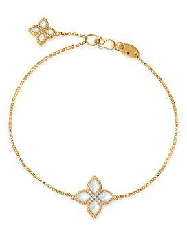 Roberto Coin - 18K Yellow Gold Venetian Princess Diamond & Mother-of-Pearl Bracelet