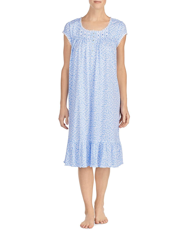 Eileen West Blue Dots Waltz Short Gown   Bloomingdale\'s