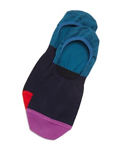 Paul Smith No-Show Color-Block Socks - Bloomingdale's_0