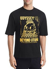 McQ Alexander McQueen - Chester Odyssey Graphic Crewneck Tee