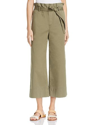 FRAME - High Rise Cropped Pants