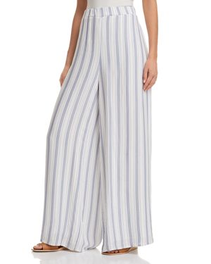 SAGE THE LABEL ALEXA STRIPED WIDE-LEG PANTS - 100% EXCLUSIVE