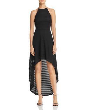 Aqua Striped Mesh High/Low Dress - 100% Exclusive 2895428