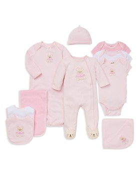 Little Me - Girls' Bear Footie, Bibs, Bodysuits & More - Baby