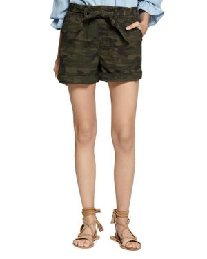 Daydreamer Stretch Cotton Camo Shorts in Mother Nature Camo