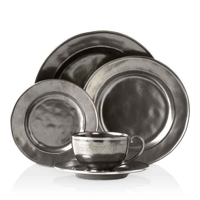 Juliska - Pewter Stoneware Dinnerware Collection