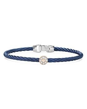 ALOR - Single Station Cable Bangle Bracelet