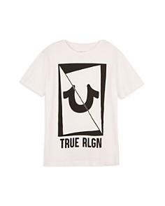 True Religion Boys' Sliced Horseshoe Logo Tee - Little Kid, Big Kid - Bloomingdale's_0