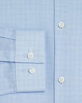 Theory - Illusion Textured Slim Fit Dress Shirt