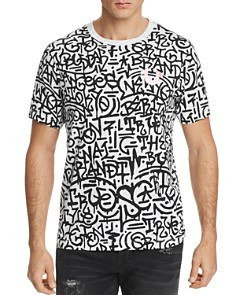 True Religion Graffiti Crewneck Tee - Bloomingdale's_0