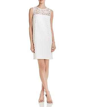 nanette Nanette Lepore Lace-Detail Knit Dress