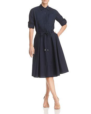 Donna Karan - Drawstring Shirt Dress