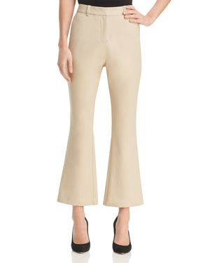 FLARED ANKLE PANTS