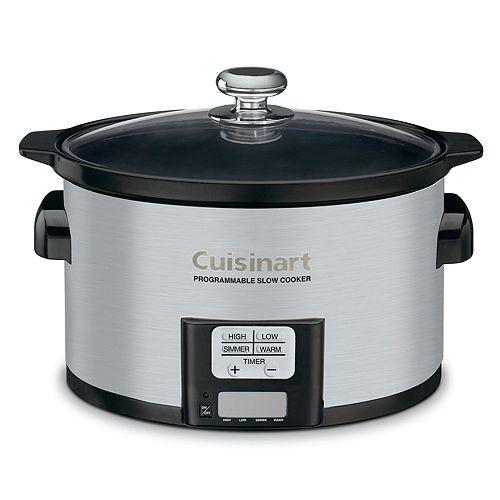 Cuisinart - 3.5-Quart Programmable Slow Cooker by Cuisinart