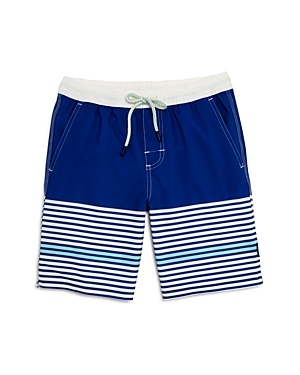 Johnnieo Boys ContrastStripe Swim Trunks  Big Kid