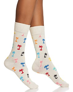 Happy Socks Palm Beach Crew Socks - Bloomingdale's_0
