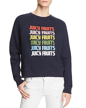 Juicy Couture Black Label Stacked Logo Graphic Sweatshirt