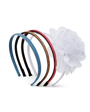 Capelli Girls Denim Headband Set