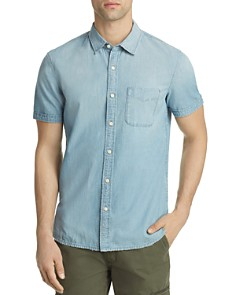 AG Pearson Regular Fit Button-Down Shirt - Bloomingdale's_0
