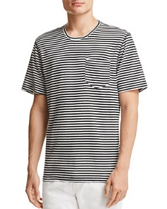 Sovereign Code - Father Striped Crewneck Tee