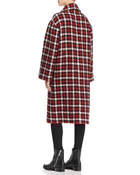 McQ Alexander McQueen - Plaid Overcoat