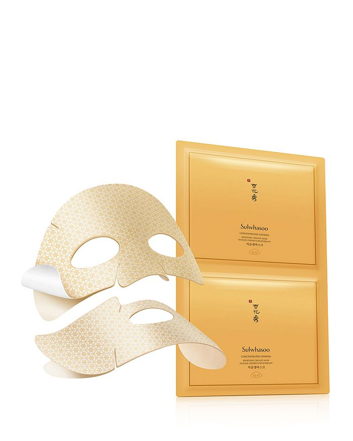 Sulwhasoo - Concentrated Ginseng Renewing Creamy Masks, Set of 5
