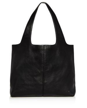 Halston Heritage Tina Large Open Soft Leather Tote 2835811