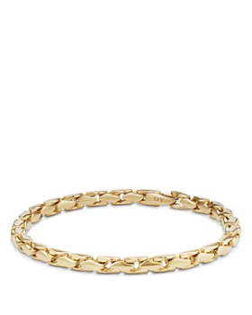 David Yurman - Medium Fluted Chain Bracelet in 18K Gold