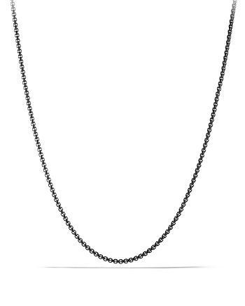 David Yurman - Small Box Chain Necklace 2.7mm, 22""