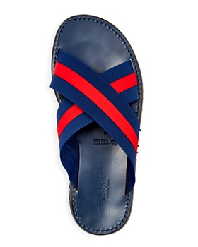 The Men's Store at Bloomingdale's - Striped Slide Sandals - 100% Exclusive