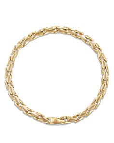 David Yurman - Medium Fluted Chain Bracelet in 18K Gold