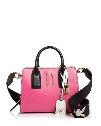 b2bc015a34f MARC JACOBS Little Big Shot Leather Satchel | Bloomingdale's
