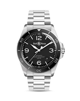 Bell & Ross - BR V2-92 Black Steel Watch, 41mm