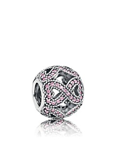 PANDORA Sterling Silver & Cubic Zirconia Women's Day Charm 2018 - Bloomingdale's_0