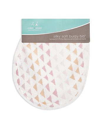 Aden and Anais - Metallic-Print Burpy Bib