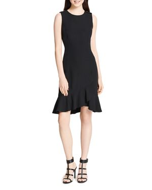 Calvin Klein Sleeveless Ruffle-Hem Dress 2950714
