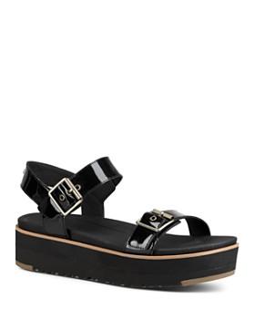 UGG® - Women's Angie Leather Platform Sandals